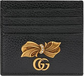 Gucci business card holders 70 items stylight gucci leather card case with bow colourmoves
