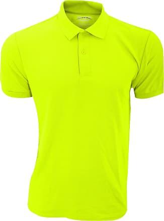 Gildan Gildan Mens DryBlend Adult Sport Double Pique Polo Shirt (XL) (Safety Green)