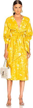 Johanna Ortiz San Bernardo Del Viento Dress in Floral,Yellow