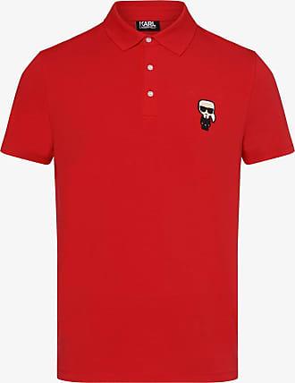 Karl Lagerfeld Herren Poloshirt rot