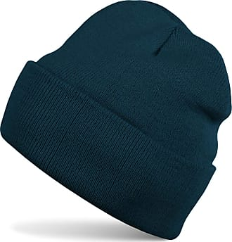 styleBREAKER Classic Beanie Knit hat, Warm fine Knit hat, Unisex 04024029, Color:Petrol-Blue