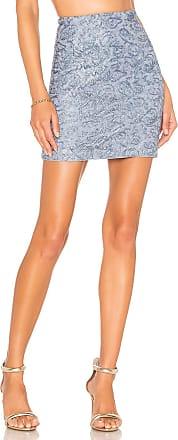 NBD Angelica Mini Skirt in Baby Blue
