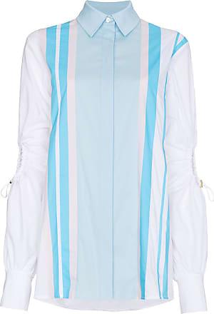Peter Pilotto Camisa mangas longas - Azul