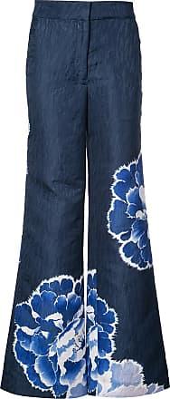 Natori Calça flare - Azul