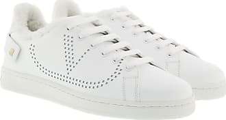 Valentino Sneakers - Net Shearling Sneaker White - white - Sneakers for ladies