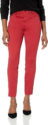 NYDJ Womens Petite AMI Skinny Legging Jean, Gooseberry, 4