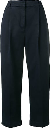 Ymc You Must Create cropped straight-leg trousers - Blue