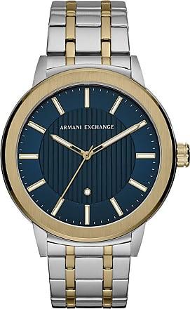 A|X Armani Exchange Relógio Quartz Maddox - Homem - Prateado - Único IT