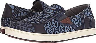 Olukai Kahu Pow! Wow! (Carbon/Vintage Indigo) Mens Shoes