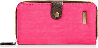 Swankyswans Womens Riley Long Folding Lw Wallet Fuschia