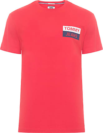 Tommy Jeans T-SHIRT MASCULINA ESSENTIAL TOMMY - LARANJA