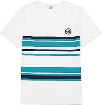 Milon Camiseta Milon Infantil Listras Branca