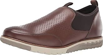 Hush Puppies Mens Expert Perf Slipon Loafer, Saddle Brown Leather, 08.5 M US