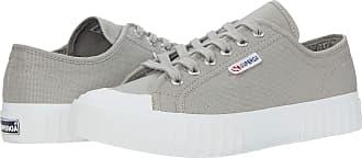 Superga Womens 2630-COTU Sneaker, Full Grey Ash, 9.5