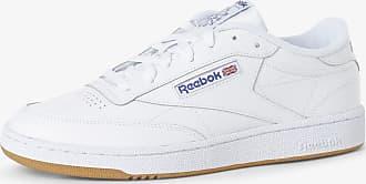 Reebok Herren Sneaker aus Leder weiss