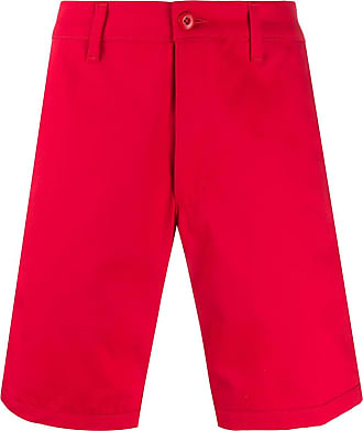 Noon Goons Bermuda chino cintura média - Vermelho