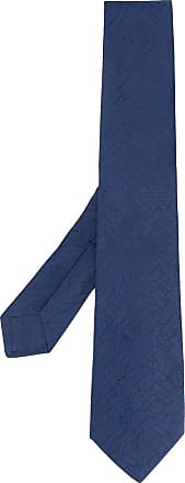 Kiton Gravata com estampa abstrata - Azul