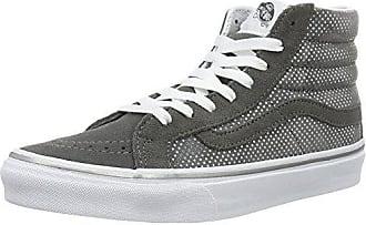 c9fefe5c0b Vans Damen Ua Sk8-hi Slim Hohe Sneakers Grau (Metallic Dots Dark Gray