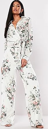 Missguided Floral Palazzo Pants at Forever 21 White/multi