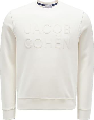 Jacob Cohen Rundhals-Sweatshirt offwhite bei BRAUN Hamburg