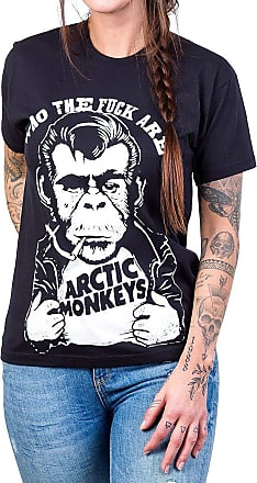 Bandalheira Camiseta Arctic Monkeys Macaco Fumando Gola Redonda