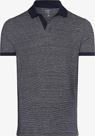 Olymp Level 5 Herren Poloshirt aus Leinen-Mix blau