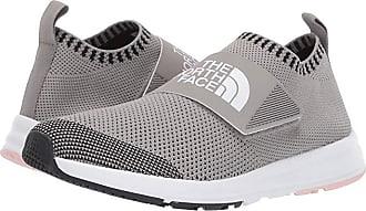 The North Face Cadman Moc Knit (Silt Grey/Pink Salt) Womens Shoes