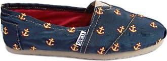 Toms Navy Anchor gestickte Klassiker - 37.5 | navy - Navy