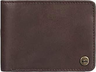 Quiksilver Mens Mack Wallets, Chocolate Brown, Dimensions: Medium 4.5 3.5 [h] / 12[w] x 9[h] cm