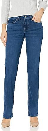 NYDJ Womens Marilyn Straight Leg Jeans, Habana, 18 32