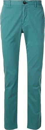 Paul Smith Calça chino slim - Verde