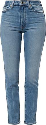 Khaite Calça jeans skinny com cintura alta - Azul
