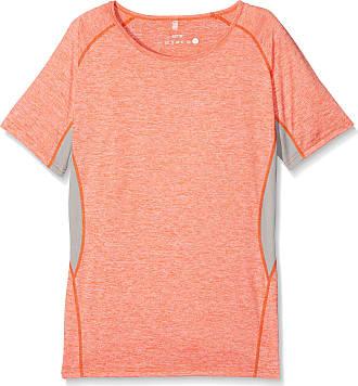 Result Womens S270F Sports Shirt, Orange (Orange Marl/Grey Mist Marl), 18 (Size: XX-Large)