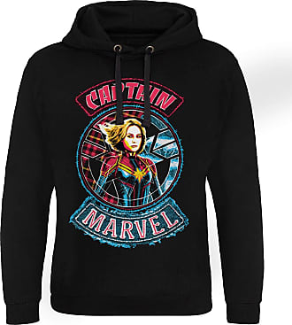 MARVEL Officially Licensed Patch Epic Hoodie (Black), Medium