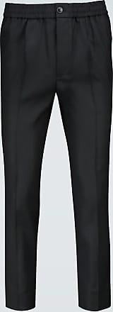 Ami Elasticated wool pants