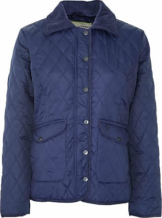 Men Champion Diamond Quilted Jacket Country Estate Corduroy Shoulder Patch M-3XL