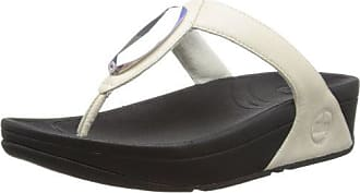 FitFlop Womens Chada (Leather), Urban White, 10 M (B)