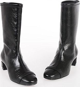 Stuart Weitzman Leather BECKETT Pull On Boots 4 cm size 38,5