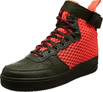 85fc71d648b7c Nike SF Af1 Mid, Chaussures de Gymnastique Homme, Multicolore (Cargo  Khakitotal Crimsoncargo Khaki
