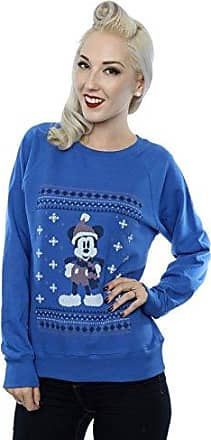 Disney Damen Minnie Mouse Split Kiss Sweatshirt XX Large