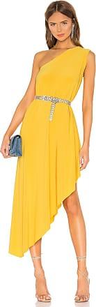 Norma Kamali X REVOLVE Diagonal Tunic Dress in Mustard