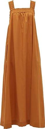 Max Mara Cappa Dress - Womens - Dark Orange