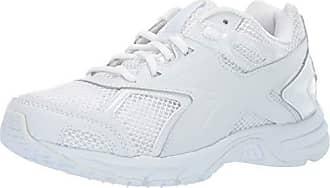Reebok Mens Quickchase SE WD2E Sneaker, White/Steel, 6.5 4E US
