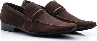Di Lopes Shoes Calçado Masculino Social em 100% Couro (40, Marinho)