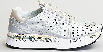 Reposi Calzature PREMIATA Sneakers in pelle color silver