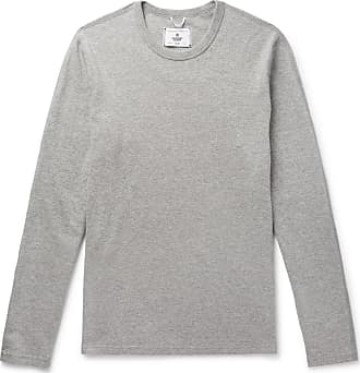 Reigning Champ Mélange Cotton-jersey Sweatshirt - Gray