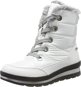 Caprice Womens Holy Snow Boots, White (White Comb 197), 4 UK