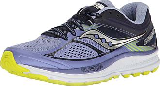 Saucony Guide 10, womens Run Shoe Running Shoes, Multicolour (Purple/Navy/Citron), 5 UK (38 EU)