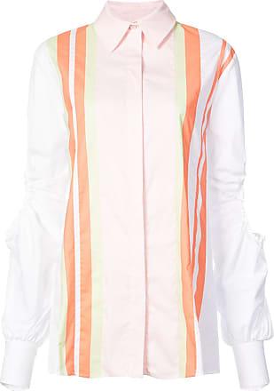 Peter Pilotto Camisa com contraste - Branco