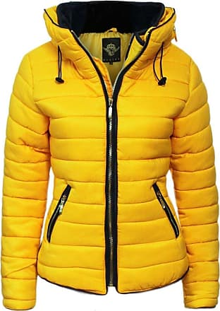 Parsa Fashions Malaika Ladies Quilted Padded Puffer Bubble Fur Collar Warm Thick Womens Jacket Coat - Available in Plus Sizes (Small to XXXXL) UK 8-24 (XXXXXL, Musta